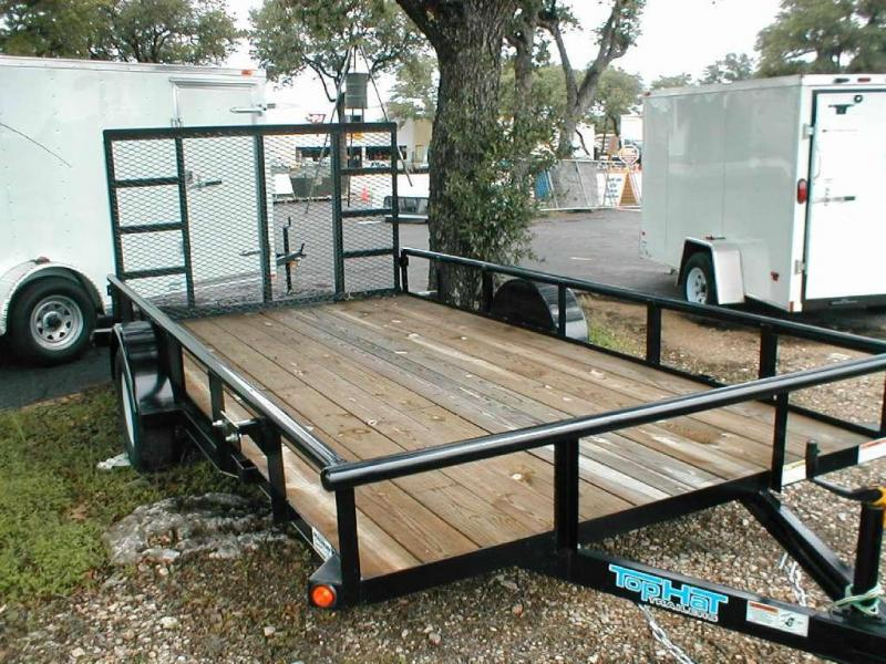 2017 Top Hat Trailers 83X14DSP Utility Trailer