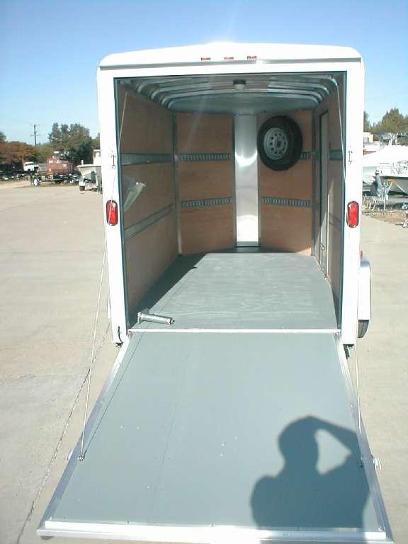 Wells Cargo RF6X101-R Enclosed Trailer