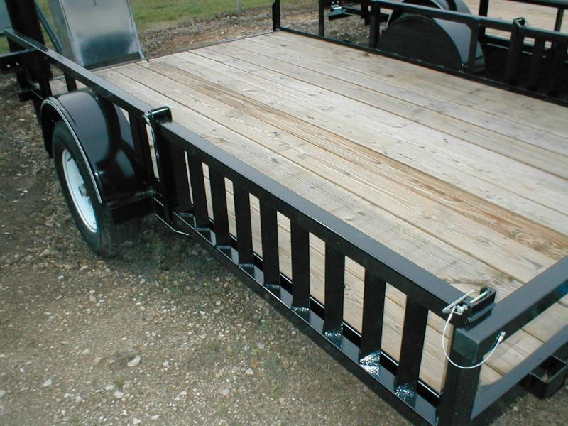 Top Hat Trailers 83x14QH Utility Trailer