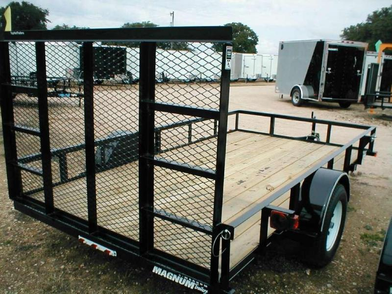 Top Hat Trailer 6.5x12DSA Utility Trailer
