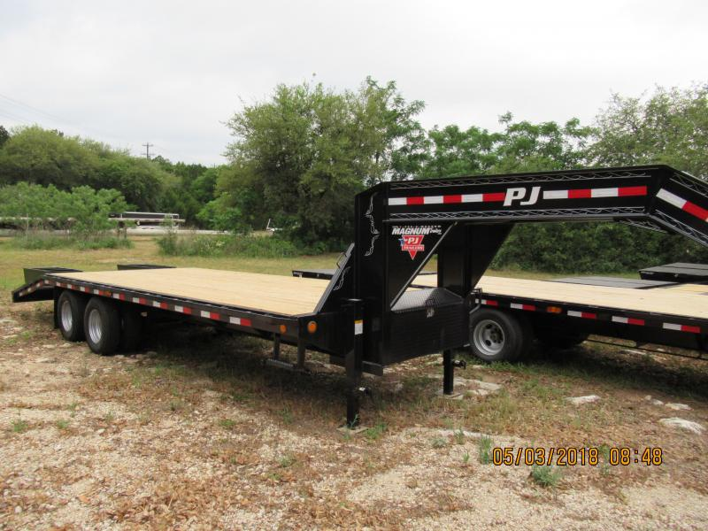 2019 PJ Trailers FD25 Flatbed Trailer