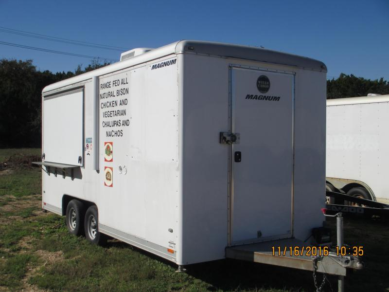 2011 Wells Cargo CLW1622 Enclosed Cargo Trailer