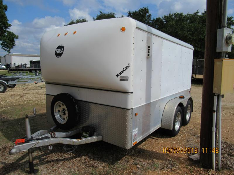 2001 Wells Cargo MC122-7 Motorcycle Trailer