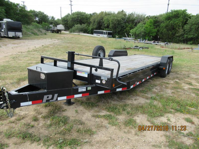 2014 PJ Trailers TF24 Equipment Trailer