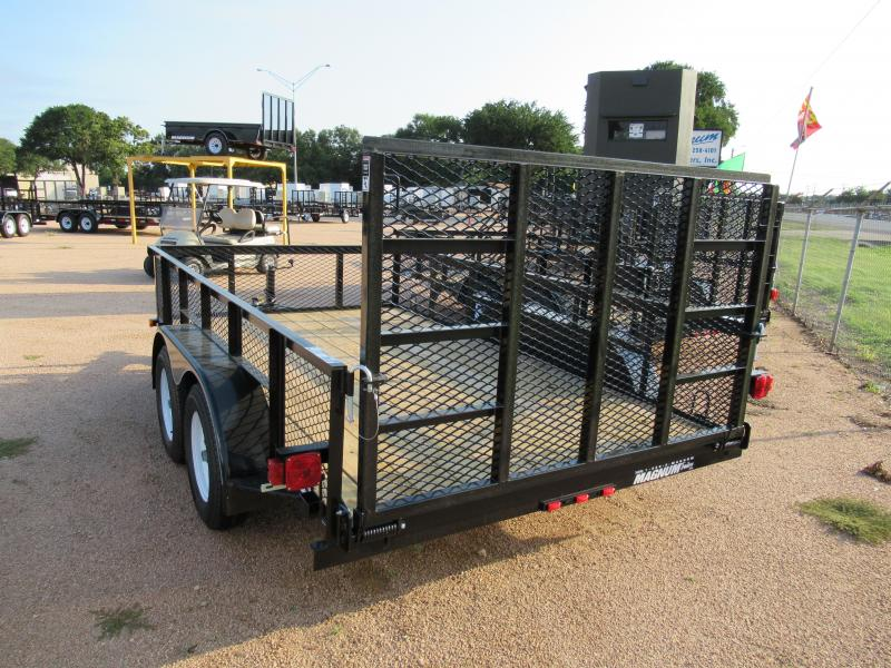 Top Hat Trailers 12RAX Utility Trailer
