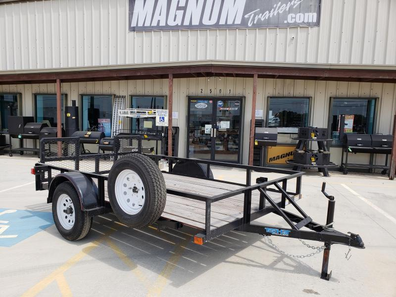 2015 Top Hat Trailers 77x10DSA Utility Trailer