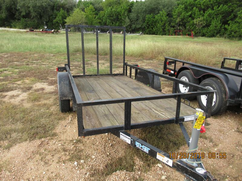 2012 Top Hat Trailers 5x10X Utility Trailer