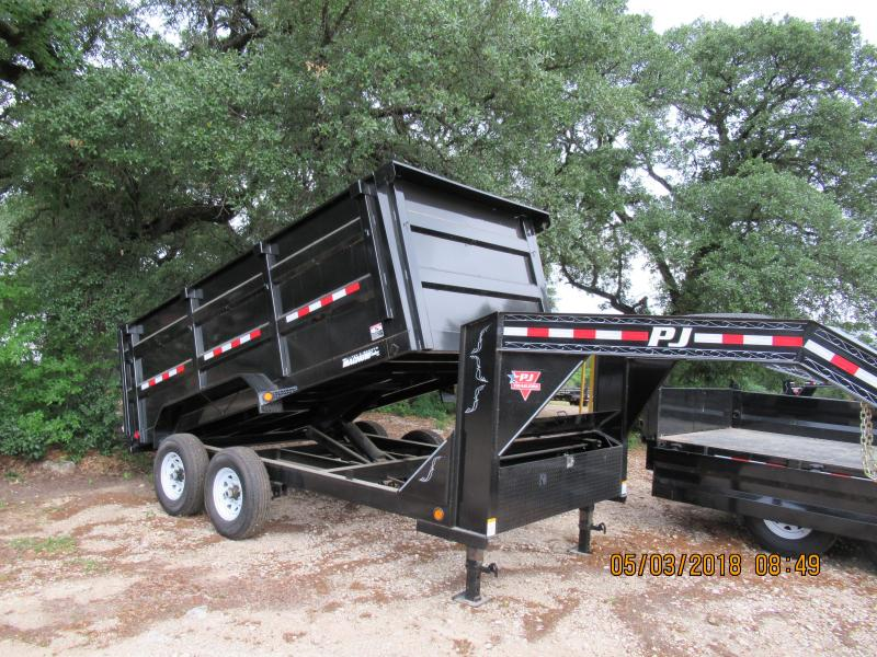2019 PJ Trailers DM14 - GN Dump Trailer