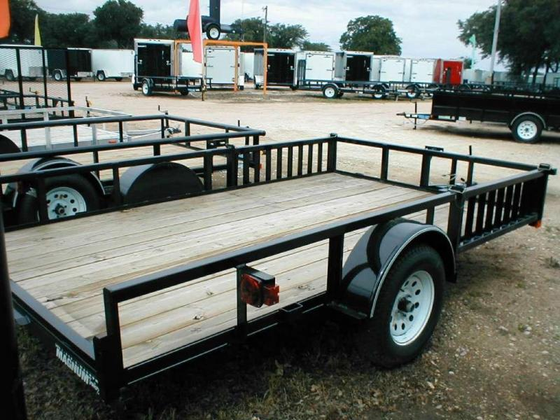 Top Hat Trailers 83X12QH Utility Trailer