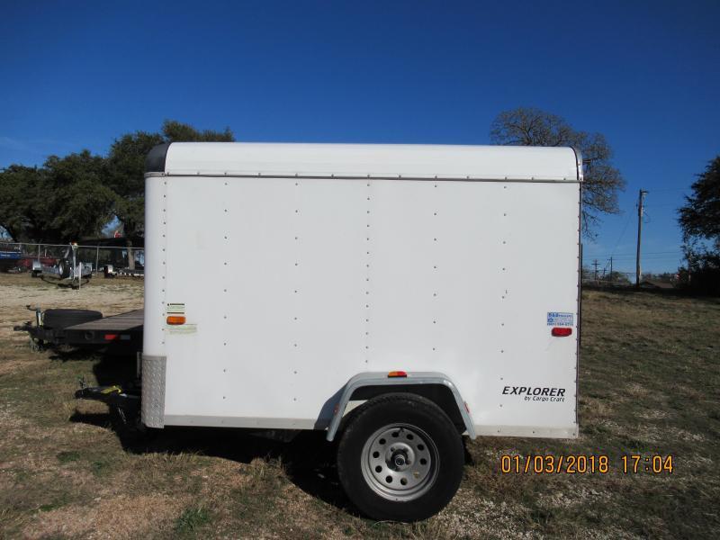 2007 Cargo Craft 5x8SA Enclosed Trailer