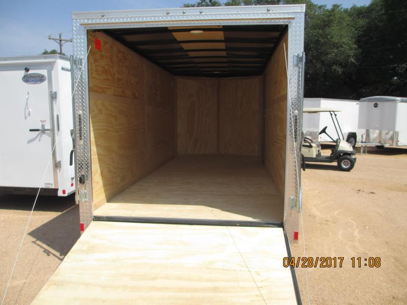 Continental Cargo VHW716TA2 Enclosed Trailer