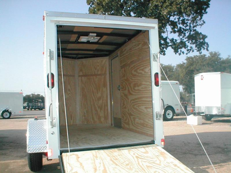 Wells Cargo FT581-R Enclosed Trailer