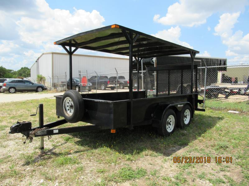 2000 Magnum 12x78SS Utility Trailer