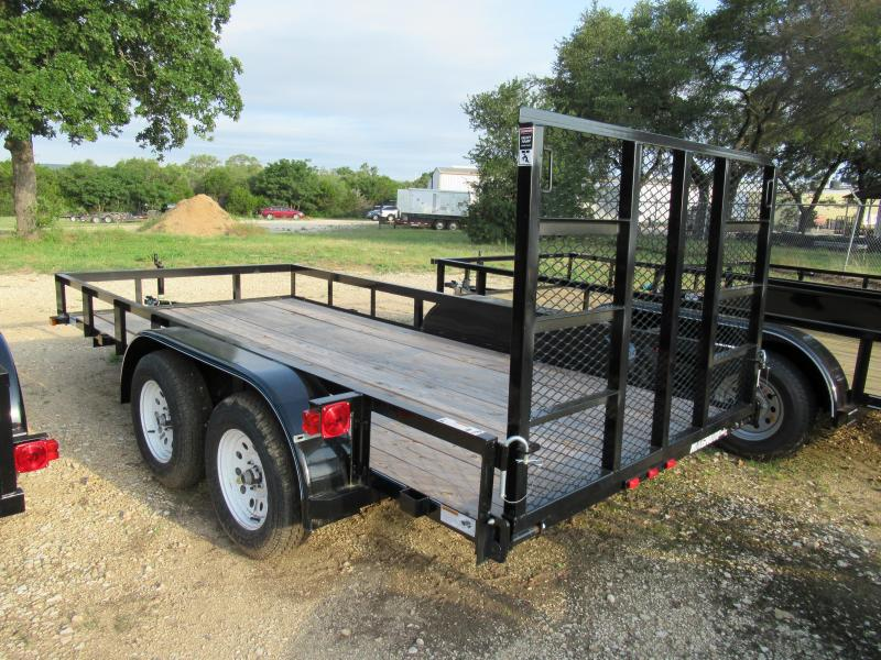 Top Hat Trailers 14LDT-R Utility Trailer