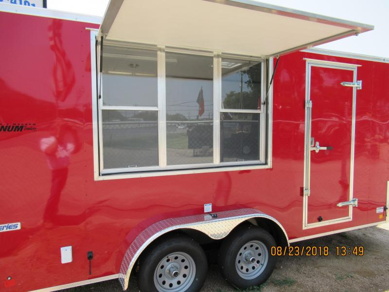2019 Continental Trailers VH716TA2 Vending / Concession Trailer