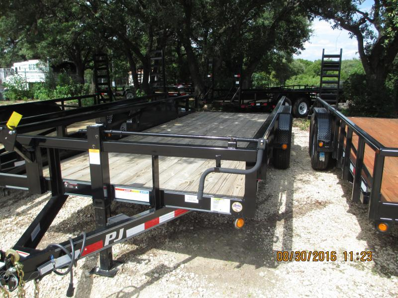 2017PJ Trailers P8202 Equipment Trailers