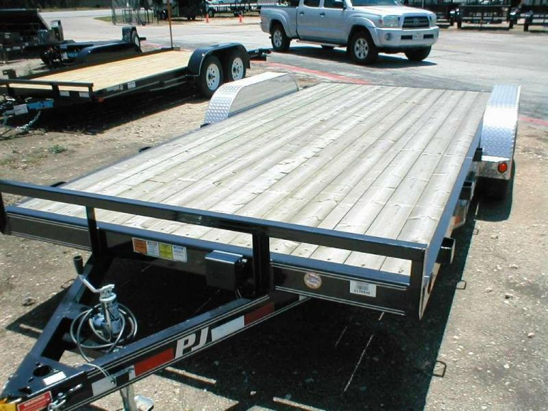 2017 PJ Trailers C5182 Car Trailer