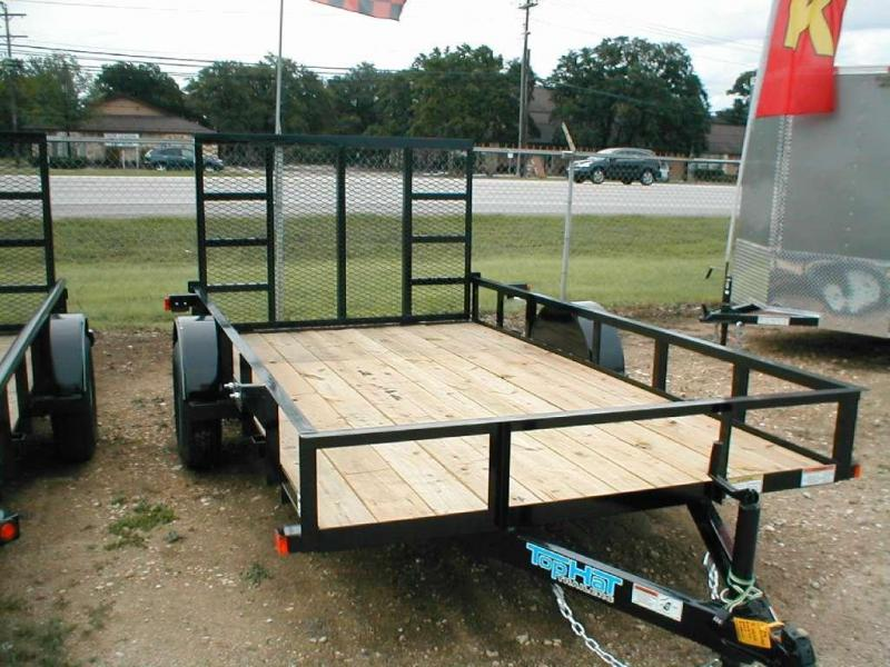 2017 Top Hat Trailers 6.5X12DSP Utility Trailer