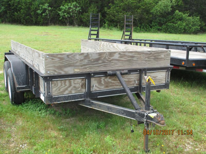 1994 Other 77x12 Tandem Axle Utility Trailer