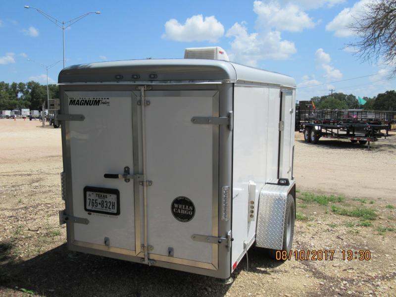 2015 Wells Cargo SW10-V Enclosed Cargo Trailer