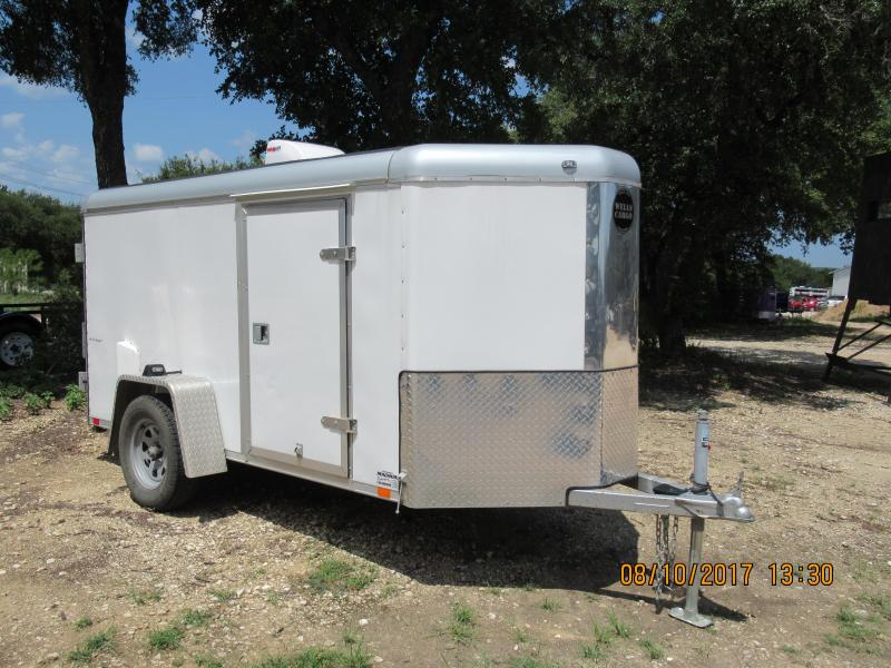 2015 Wells Cargo SW10-V Enclosed Cargo Trailer