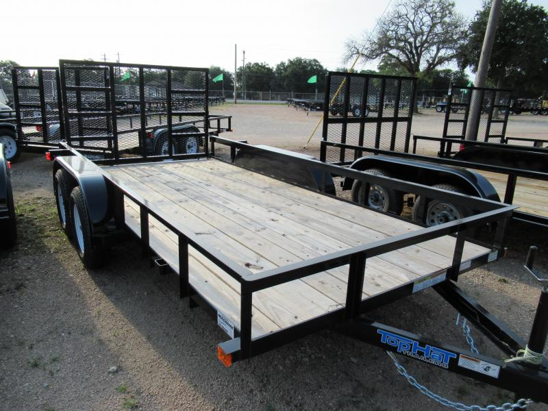 Top Hat Trailers 14LDT Utility Trailer
