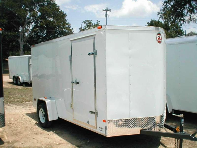 2017 Wells Cargo FT6121 Cargo / Enclosed Trailer