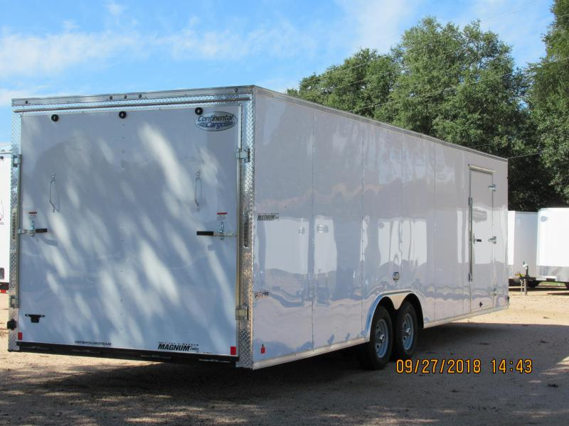 2018 Continental Cargo EHW8528TA3 Car Trailer