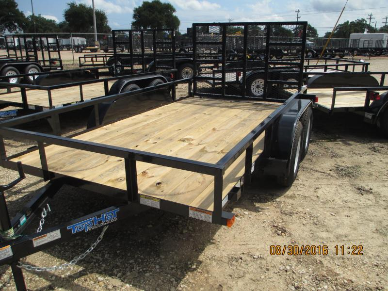 Top Hat Trailers 12LDT Utility Trailer