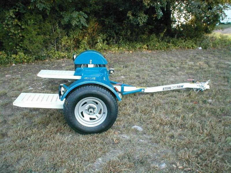 2017 Stehl Tow Dolly ST80D Car Trailer