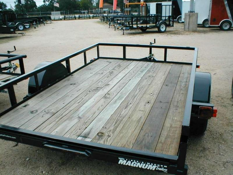 Top Hat Trailers 6.5X10DSA Utility Trailer