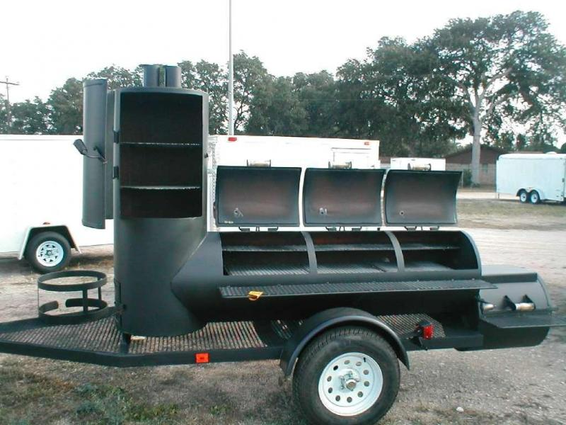 Lyfe Tyme Triple BBQ Trailer Other Trailer