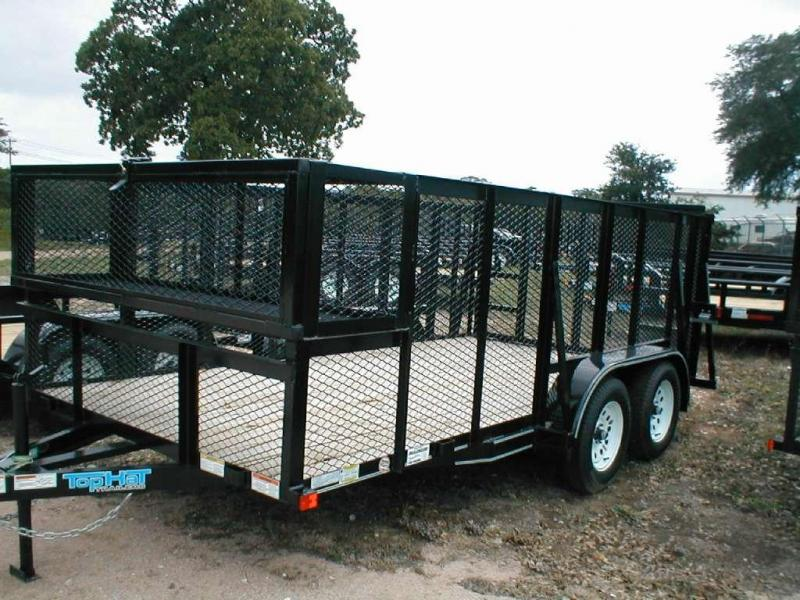 Top Hat Trailers 14LS Utility Trailer