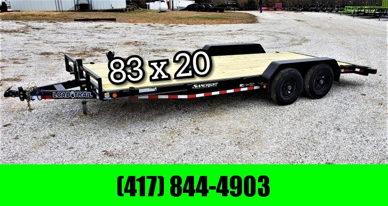"""2019 Load Trail 83"""" x 20' Tandem Axle Carhauler W/ 5200 LB. AXLES"""