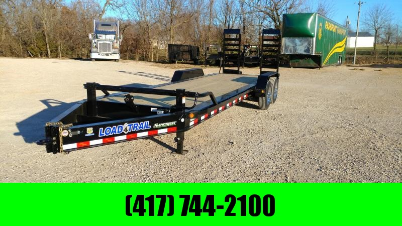 "2018 Load Trail EH20  82 x 24 Tandem Axle 10"" I-Beam Frame Equipment Hauler"