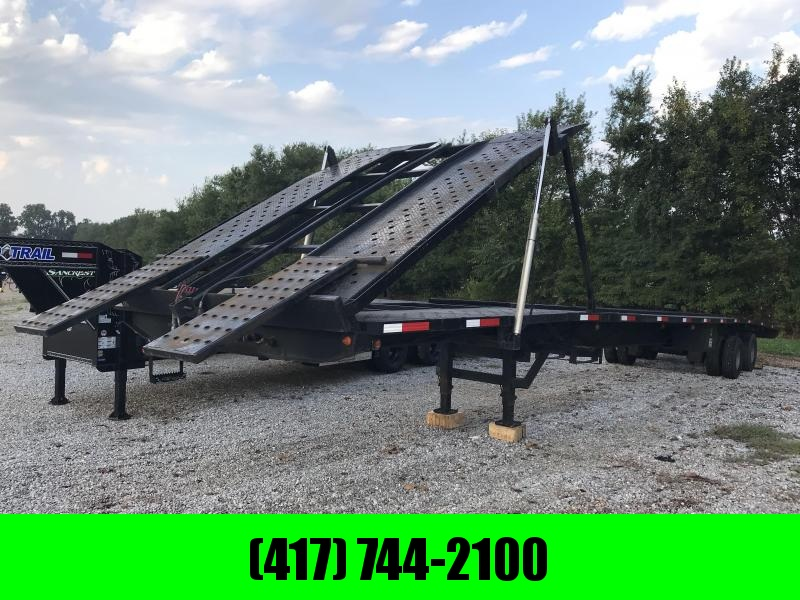 Take 3 Trailers >> 2014 Take 3 Trailers Pro Air W Tilt 4 Car Hauler W Air Ride Used