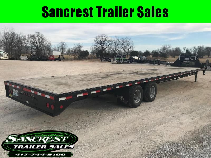 2015 Load Trail GOOSENECK Flatbed Trailer