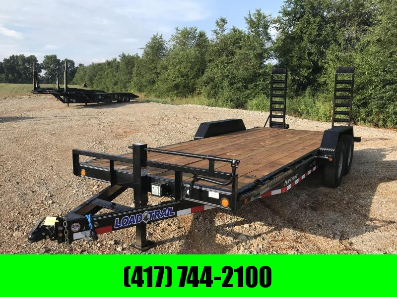 2019 Load Trail 83X20 Equipment Trailer W/FLIP UP RAMPS