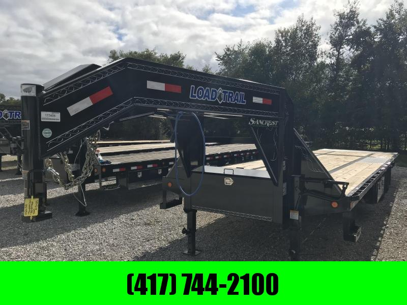 2019 Load Trail 102x32 low-pro  Gooseneck  w/hydro tail and 10k axles