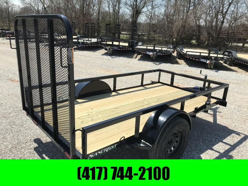 2019 Load Trail 60X10 TUBE TOP Utility Trailer W/4' TUBE GATE AND SPARE TIRE MOUNT