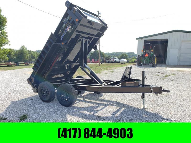"""2018 Load Trail 60"""" x 10' Tandem Axle Dump (I-Beam Frame)"""