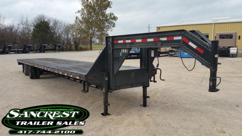 2007 Pj Trailers Gooseneck Flatbed Trailer Trailers For Sale Near Me