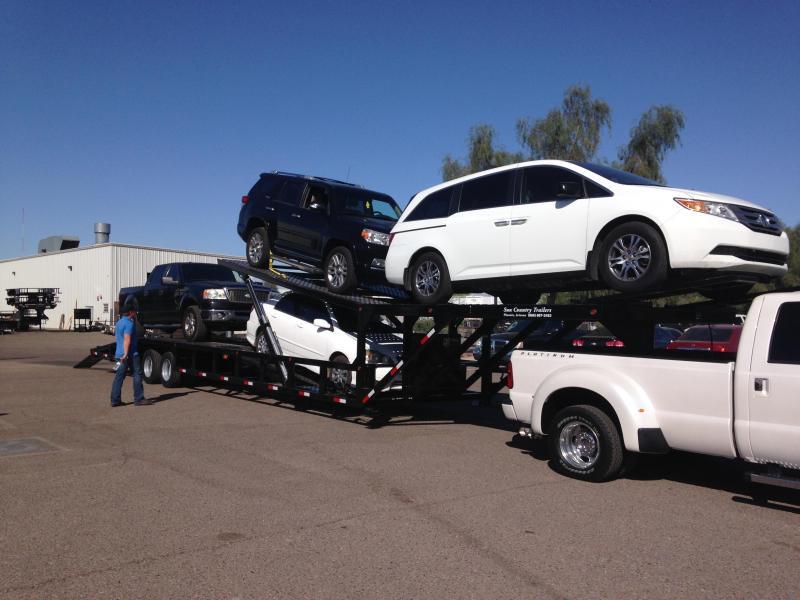 2018 Sun Country 53 Drop Deck 4car Car Racing Trailer Sancrest