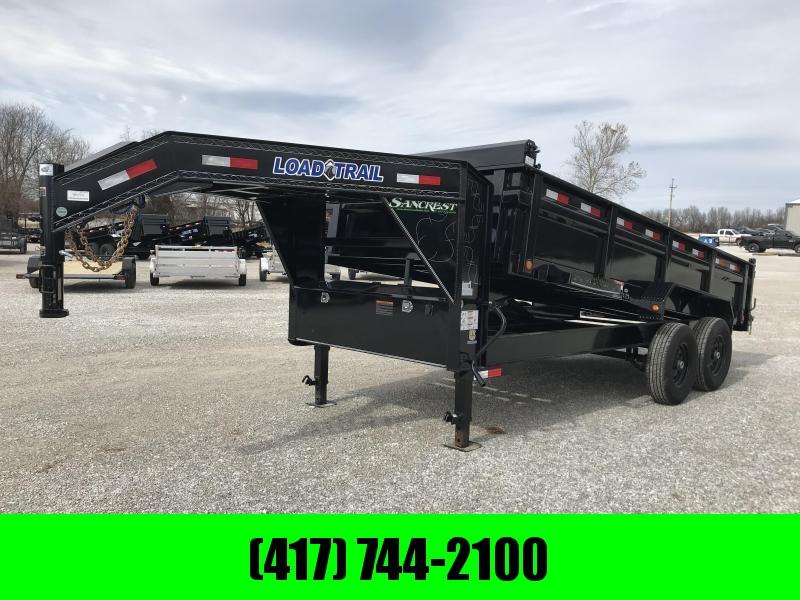 2019 Load Trail 83X16 TANDEM GOOSENECK Dump Trailer W/7K AXLES