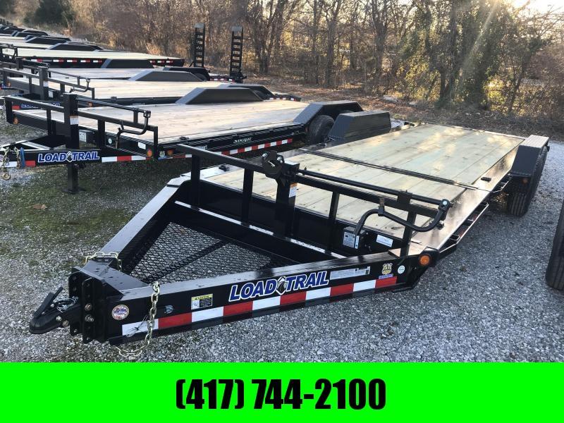 2019 Load Trail 83x22 TILT-N-GO I-BEAM Equipment Trailer W/7K AXLES