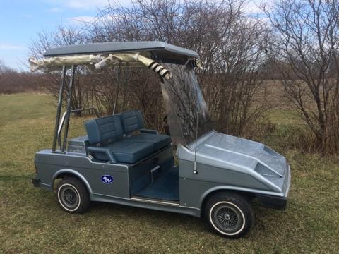 1991 Western Classic 2 Passenger Electric Golf Cart