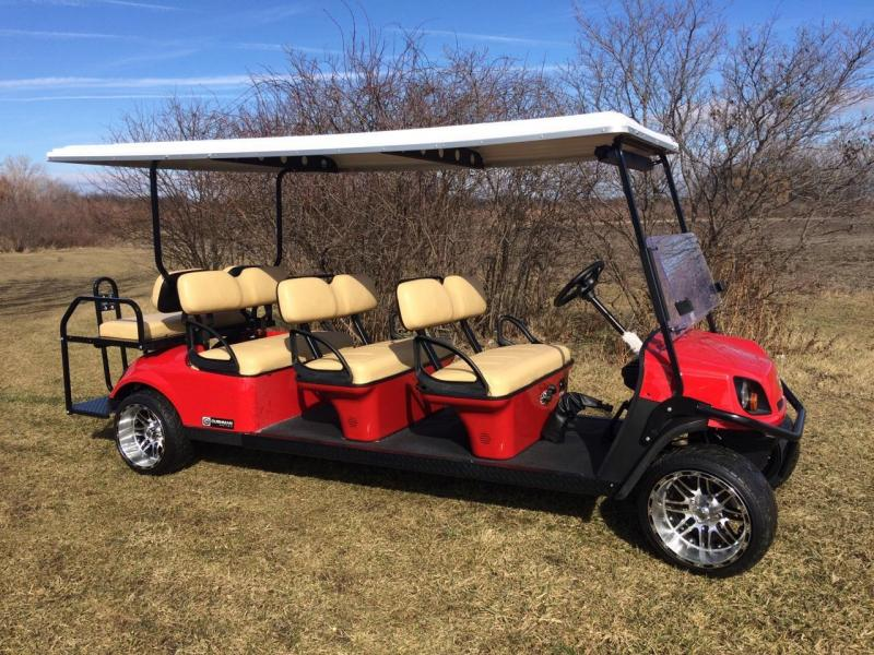 2017 Cushman 8 Passenger Gas Golf Cart