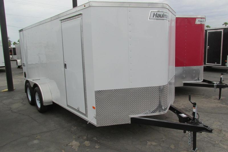 Coming Soon! Pre-Orders Available! 2017 Haulmark 7X16 Thrifty Hauler Enclosed Cargo Trailer