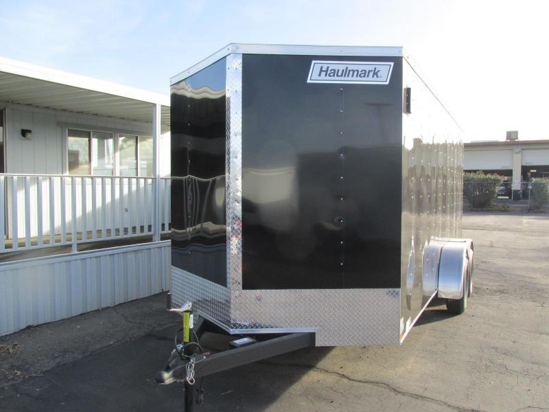 2018 Haulmark 7x16 Enclosed Cargo Trailer