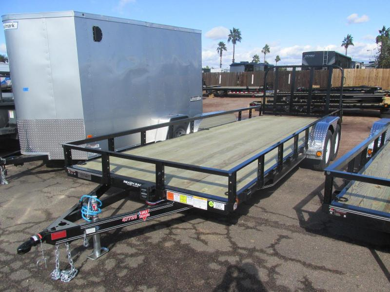 2017 PJ Trailers 20 x 77 Channel Utility
